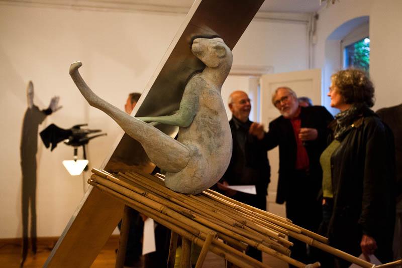 Torben Ebbesen Ausstellung, Eröffnung im KUNSTRAUM TOSTERGLOPE, 25.5.2013