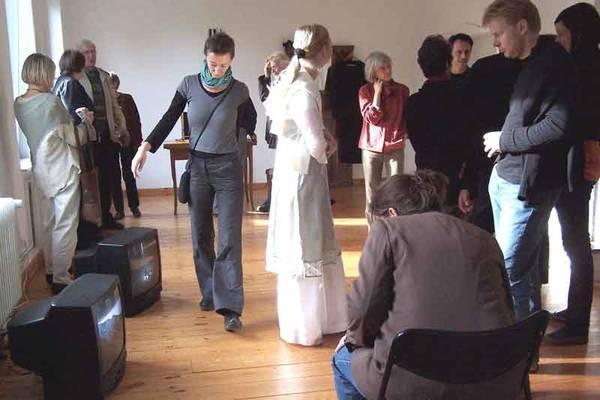 Ausstellungseröffnung Simon Wachsmuth 22. Oktober 2006