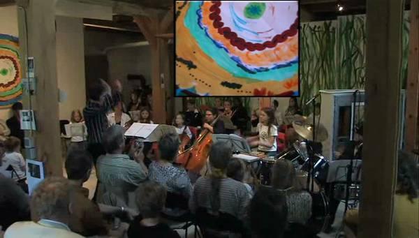 Uraufführung von 3x3 von Katia Tchemberdji am 28. Mai 2007 im Kunstraum