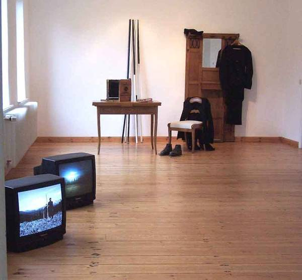 Simon Wachsmuth im KUNSTRAUM TOSTERGLOPE 2006