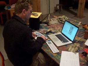 elektronische Improvisation, Joachim Heintz in Tosterglope